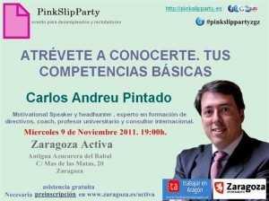 LA PINK SLIP PARTY EN ZARAGOZA