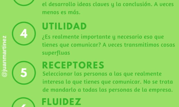 INFOGRAFÍA 10 CLAVES DE LA COMUNICACIÓN EN LAS EMPRESAS