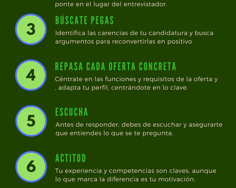 INFOGRAFÍA 20 CONSEJOS PARA LA ENTREVISTAS DE TRABAJO