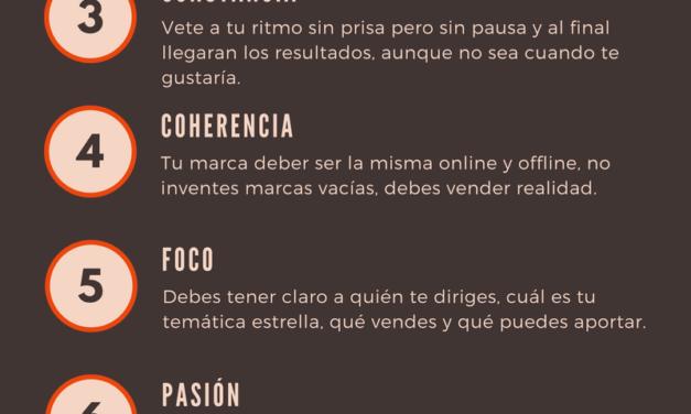 INFOGRAFÍA 10 CLAVES DE LA MARCA PERSONAL