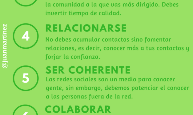 INFOGRAFÍA 10 CLAVES DEL NETWORKING
