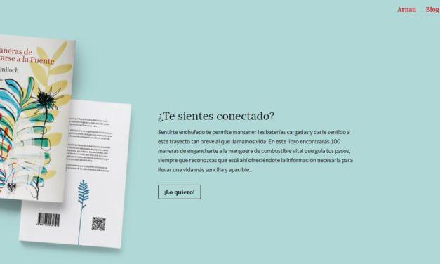 ENTREVISTA A ARNAU BENLLOCH AUTOR DEL LIBRO '100 MANERAS DE CONECTARSE A LA FUENTE'