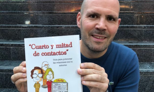LANZAMIENTO DE MI SEGUNDO LIBRO «CUARTO Y MITAD DE CONTACTOS»