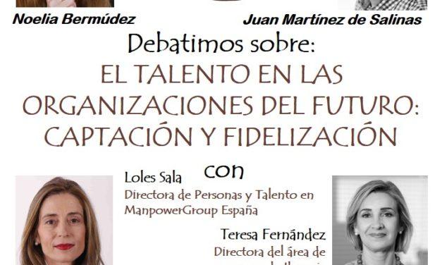 """PRIMER DEBATE CAFÉ CON TALENTO ONLINE: """"EL TALENTO EN LAS ORGANIZACIONES DEL FUTURO: CAPTACION Y FIDELIZACION"""" el 27 de enero"""